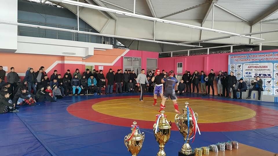 В Талдыкоргане прошли областные соревнования по Панкратиону, фото-1