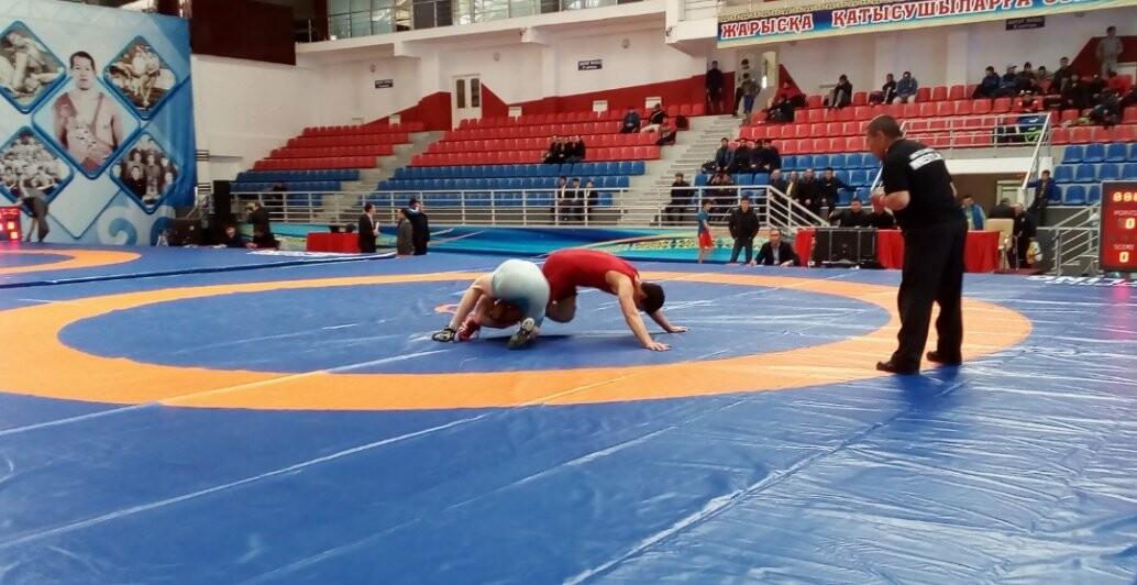 В Талдыкоргане состоялось открытие Чемпионата Республики Казахстан по вольной борьбе, фото-2