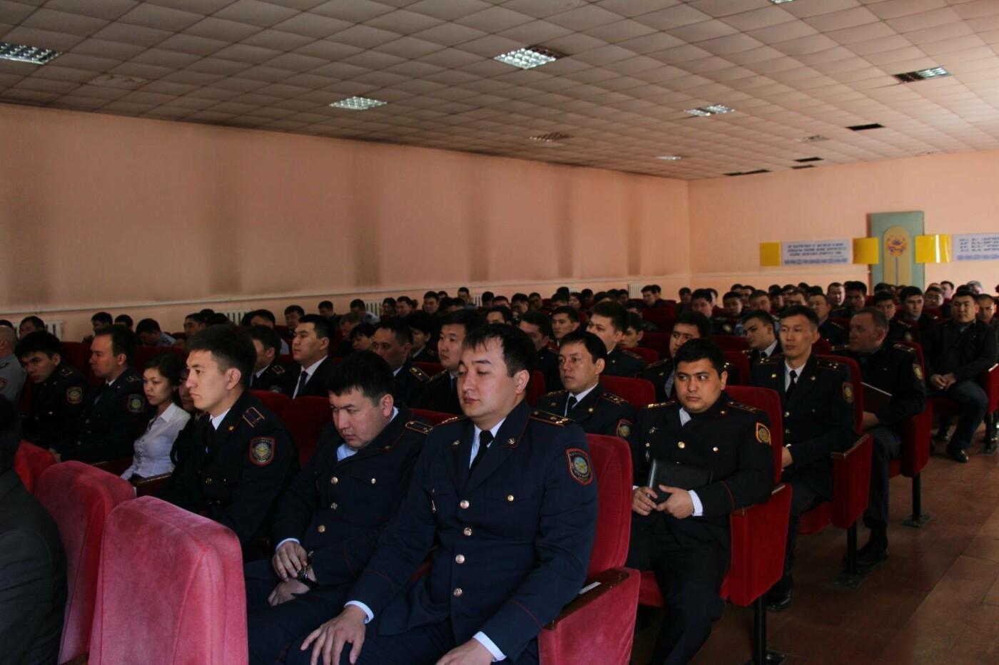 В талдыкорганском УВД торжественно отметили юбилейную дату следственных органов, фото-1