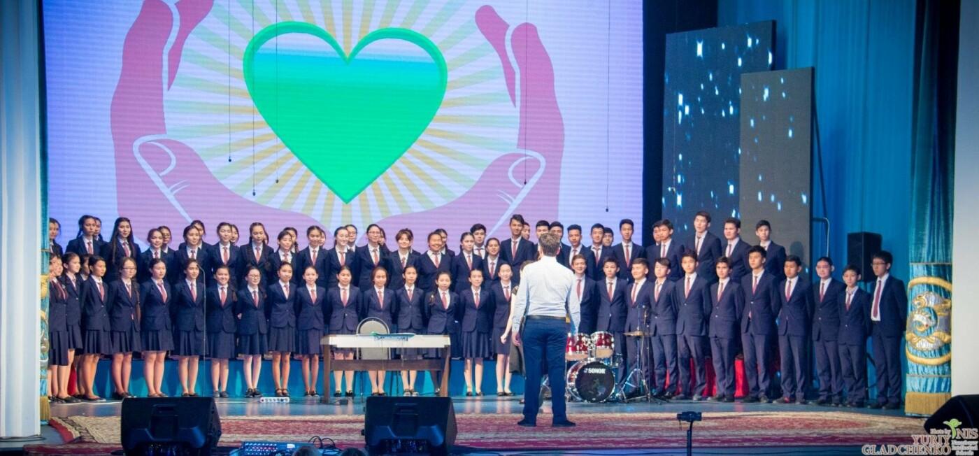 Подростки из талдыкорганской НИШ участвовали в благотворительном концерте, фото-3