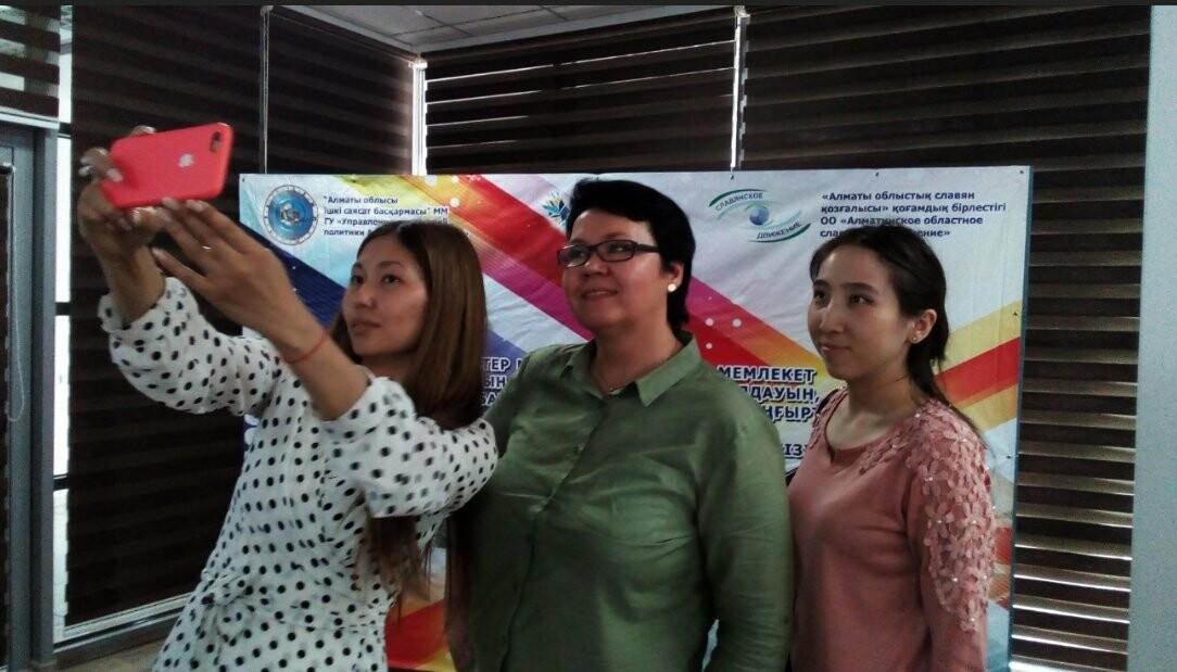Сегодня в Талдыкоргане мэтры журналистики провели мастер-класс, фото-2