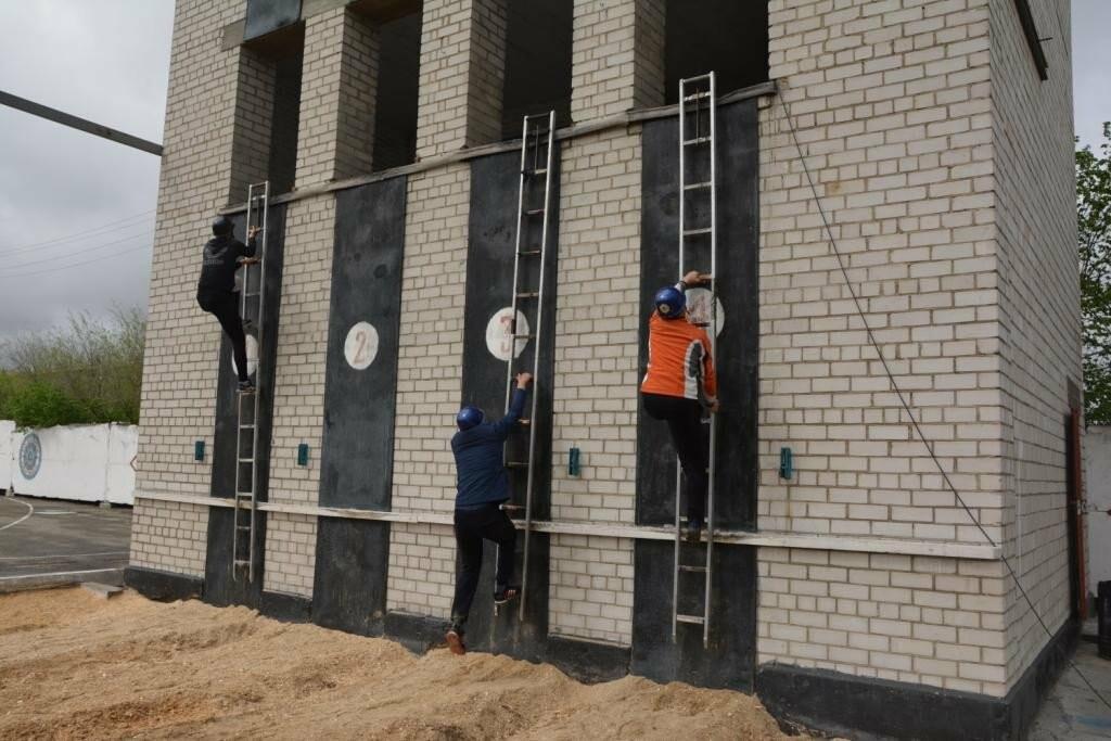 В Талдыкоргане прошел конкурс по пожарно-спасательному спорту среди школьников, фото-2