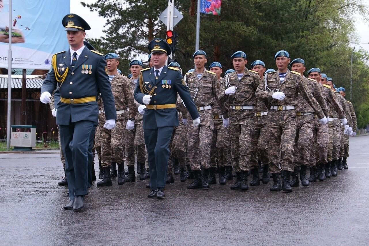 В Талдыкоргане проходит подготовка к военному параду, фото-1