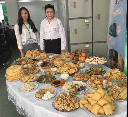 """Банк """"Центр Кредит"""" в Талдыкоргане поздравил клиентов с праздником Наурыз, фото-1"""