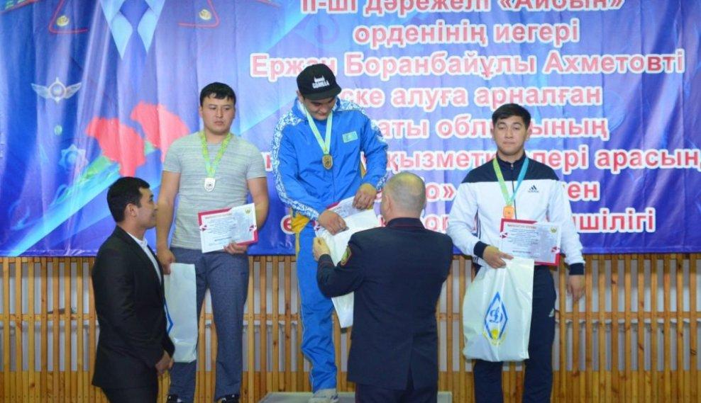 Полицейские Алматинской области побеждали на турнире по самбо, фото-1