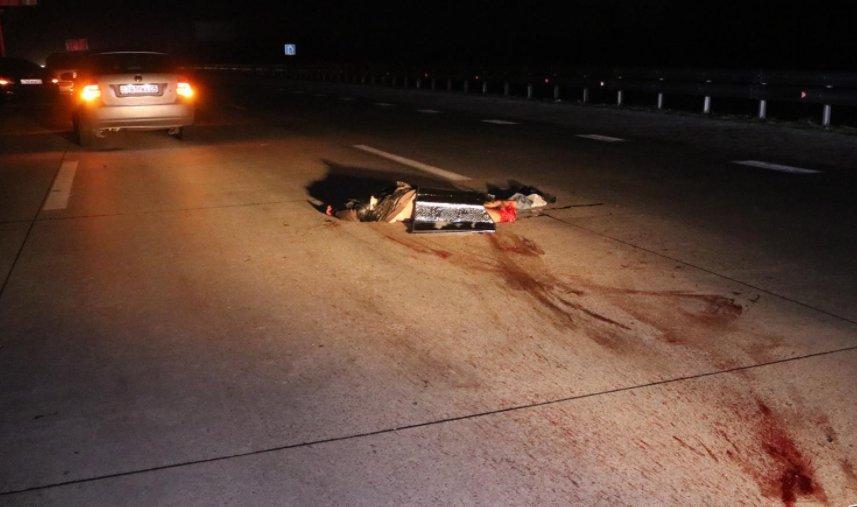 В Алматинской области на трассе пешехода-нарушителя разорвало на части, фото-2