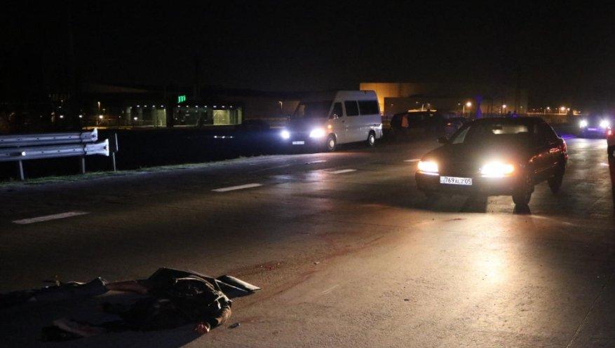 В Алматинской области на трассе пешехода-нарушителя разорвало на части, фото-1