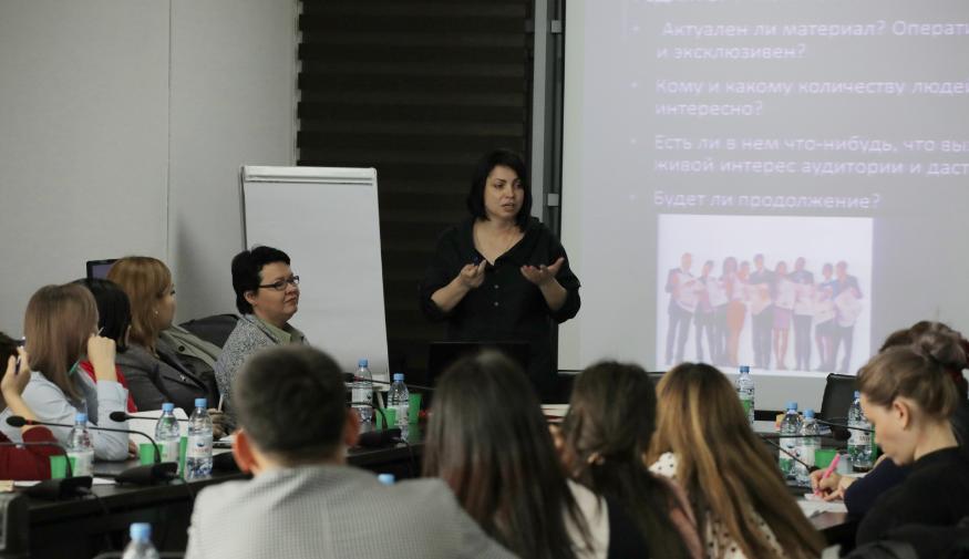 Учиться никогда не поздно: тренинг известных журналисток прошел в Талдыкоргане, фото-1