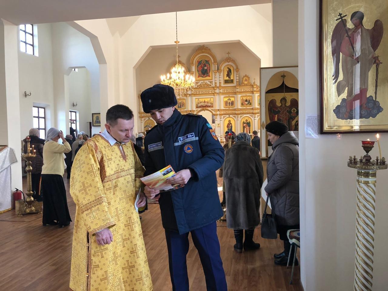 Спасатели будут дежурить в храмах Алматинской области в Рождество, фото-3